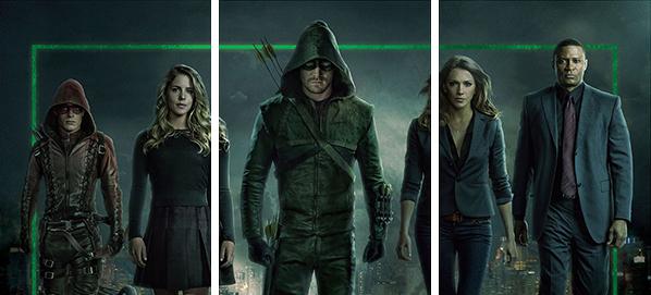 2017 Cryptozoic Arrow Season 3 Team Arrow