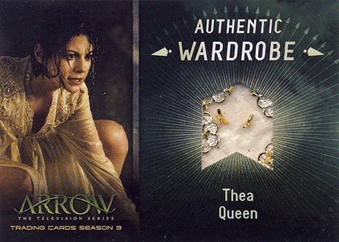 2017 Cryptozoic Arrow Season 3 Wardrobe Card M10 Beads