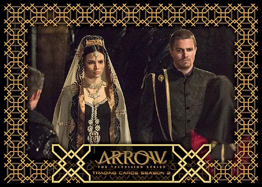 2017 Cryptozoic Arrow Season 3 Wedding