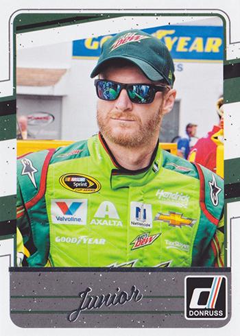 2017 Donruss Racing Variations 37 Dale Earnhardt Jr
