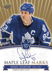 2017-NHL-Upper-Deck-Toronto-Maple-Leafs-Centennial-Set-Doug-Gilmour
