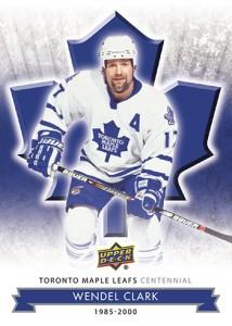 2017-NHL-Upper-Deck-Toronto-Maple-Leafs-Centennial-Set-Wendel-Clark