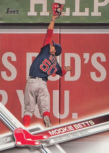 2017 T 161 Mookie Betts