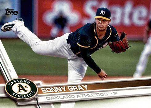 2017 T 177 Sonny Gray