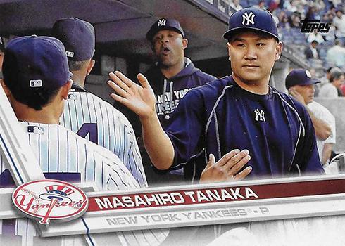 2017 T Var 208 Masahiro Tanaka