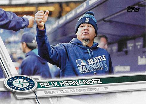 2017 T Var 243 Felix Hernandez