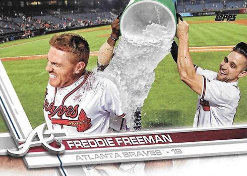 2017 T Var 244 Freddie Freeman