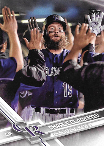 2017 T Var 265 Charlie Blackmon