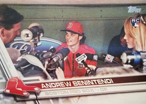2017 T Var 283 Andrew Benintendi