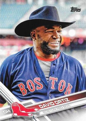 2017 T Var 350 David Ortiz Cowboy Hat