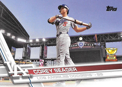 2017 T Var 5 Corey Seager