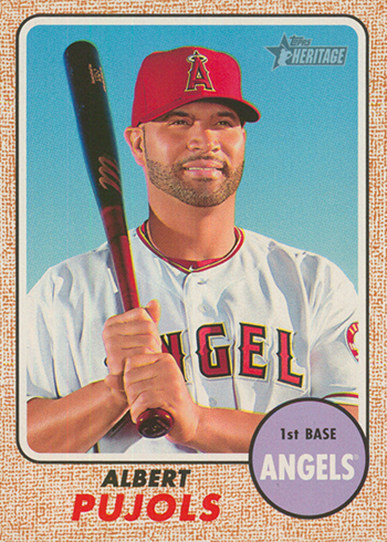 2017 TH 413 Albert Pujols