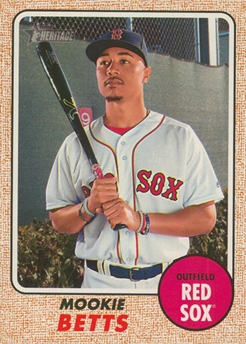 2017 TH 428 Mookie Betts