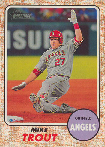2017 TH Action 450 Mike Trout