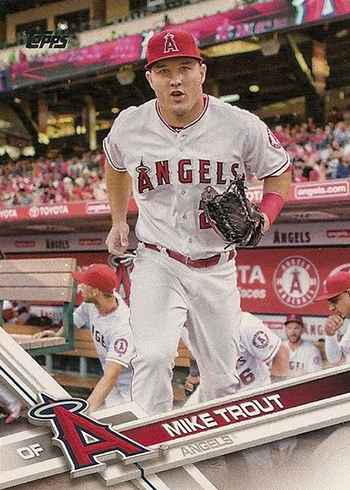 2017 Topps 20 Mike Trout