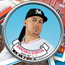 2017 Topps Archives Topps Coins Giancarlo Stanton