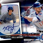 2017 Topps Bowman Then and Now Kris Bryant