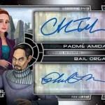 2017 Topps Star Wars Galactic Files Reborn Dual Autograph Padme Bail
