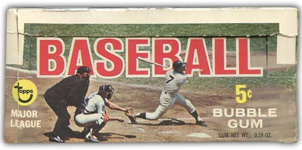 1968 Topps Baseball Box