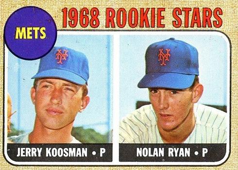 1968 Topps Nolan Ryan Jerry Koosman