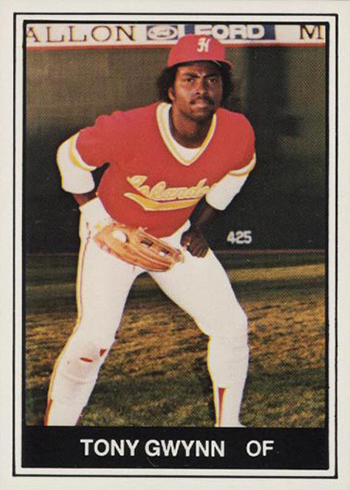1982 TCMA Hawaii Islanders Tony Gwynn
