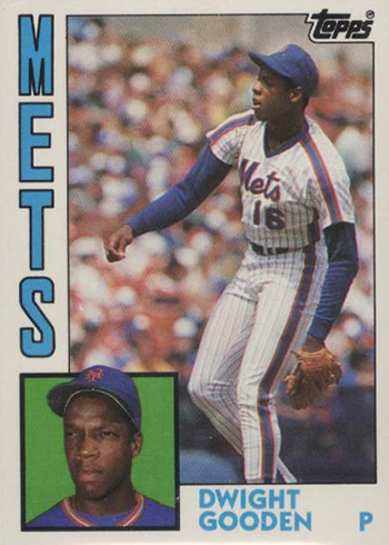 1984 Topps Traded Tiffany Doc Gooden