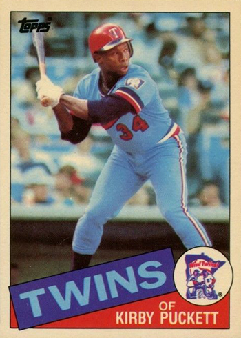 1985 Topps Tiffany Kirby Puckett