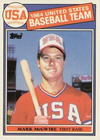 1985 Topps Tiffany Mark McGwire