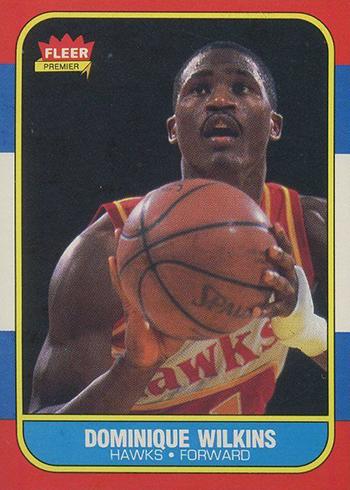 1986-87 Fleer Dominique Wilkins RC