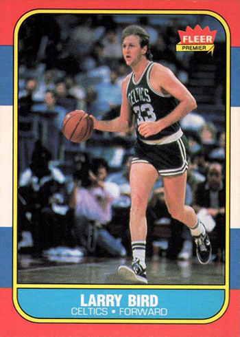 1986-87 Fleer Larry Bird