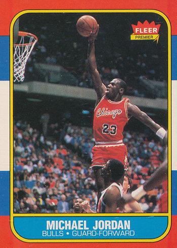 1986-87 Fleer Michael Jordan RC
