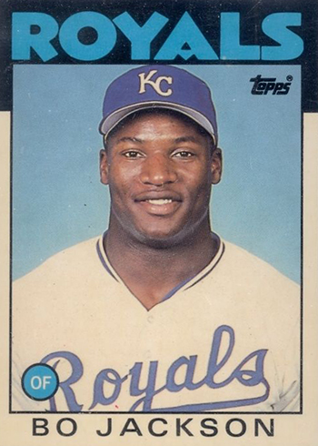 1986 Topps Traded Tiffany Bo Jackson