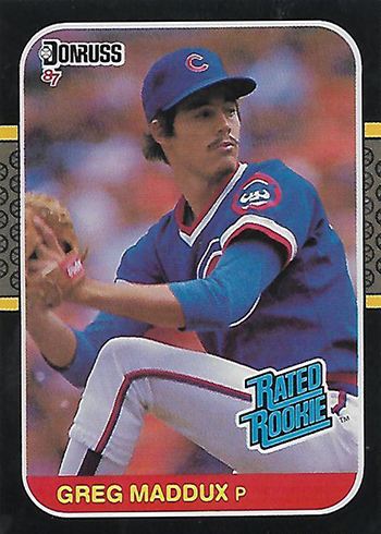 1987 Donruss Greg Maddux RC