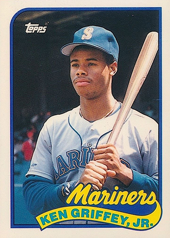 1989 Topps Traded Tiffany Ken Griffey Jr