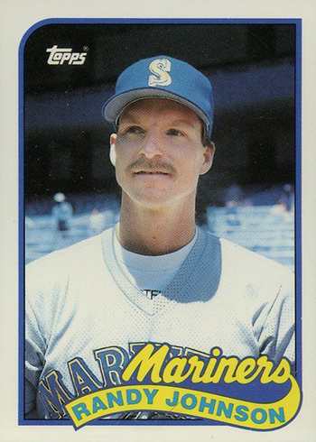 1989 Topps Traded Tiffany Randy Johnson
