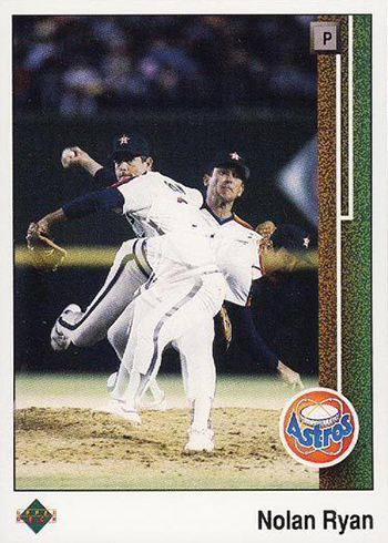 1989 Upper Deck 145 Nolan Ryan