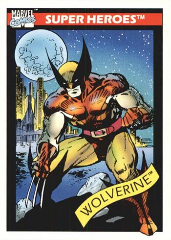 1990 Impel Marvel Universe 10 Wolverine
