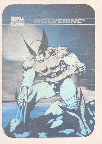 1990 Impel Marvel Universe Holograms MH4 Wolverine