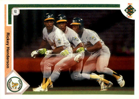 1991 Upper Deck 444 Rickey Handerson