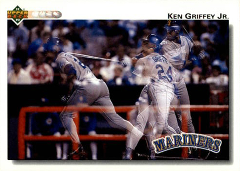 1992 Upper Deck 424 Ken Griffey Jr