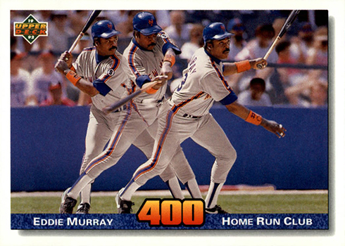 1992 Upper Deck 728 Eddie Murray