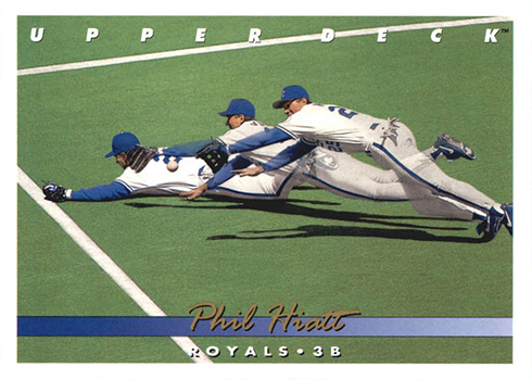 1993 Upper Deck 645 Phil Hiatt