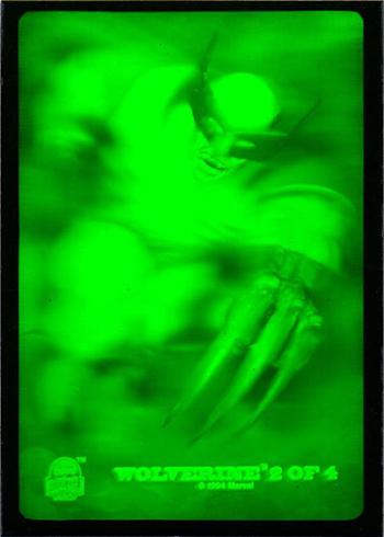 1994 Fleer Marvel Universe Series 5 3-D Holograms Wolverine