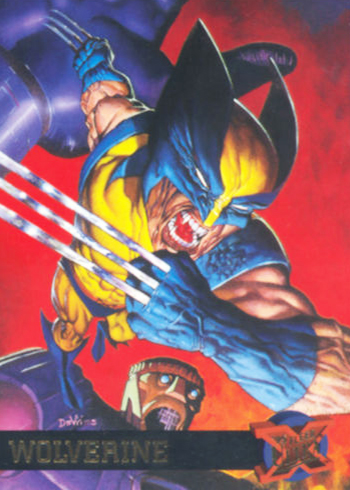 1995 Fleer Ultra X-Men 52 Wolverine