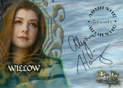 1998 Buffy the Vampire Slayer Season 1 Alyson Hannigan Autograph