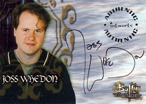 1998 Buffy the Vampire Slayer Season 1 Joss Whedon Autograph