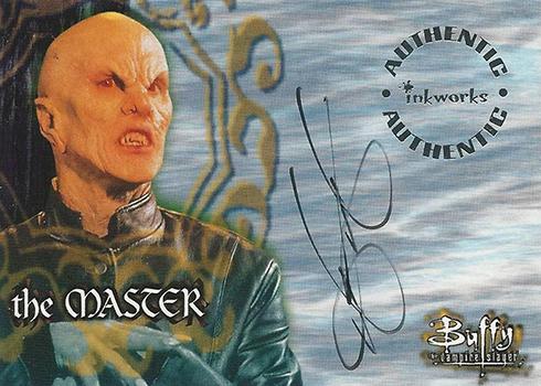1998 Buffy the Vampire Slayer Season 1 Mark Metcalf Autograph