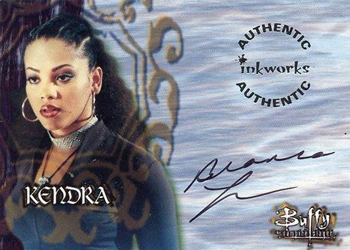 1999 Inkworks Buffy the Vampire Slayer Season 2 Bianca Lawson Autograph