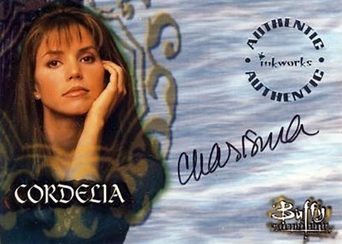 1999 Inkworks Buffy the Vampire Slayer Season 2 Charisma Carpenter Autograph