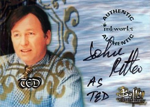 1999 Inkworks Buffy the Vampire Slayer Season 2 John Ritter Autograph